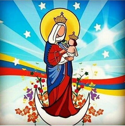La Chinita Virgen de Chiquinquira Maracaibo Venezuela.