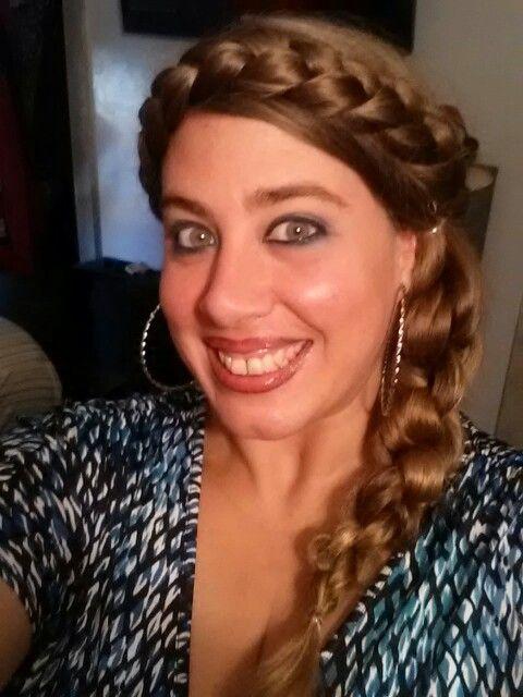 Hair - top braid...R Kelly Cornrows