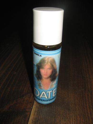 Ubrukt deodorant, DATE.  70-80 tallet.