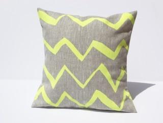 Mini Zig Zag cushion, $24.95