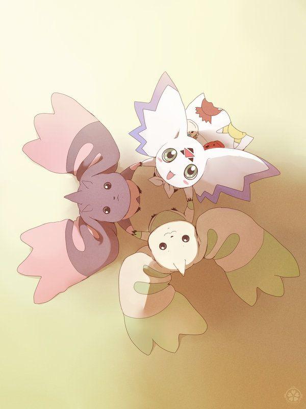 Digimon - Trio by sakura-a-i.deviantart.com on @deviantART