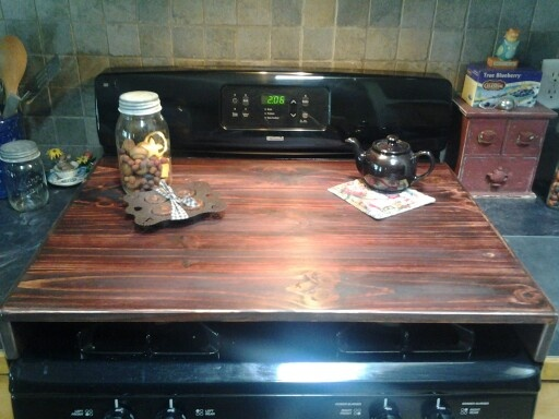 Primitive Stove Top Cover For Gas Stovetop Primitives