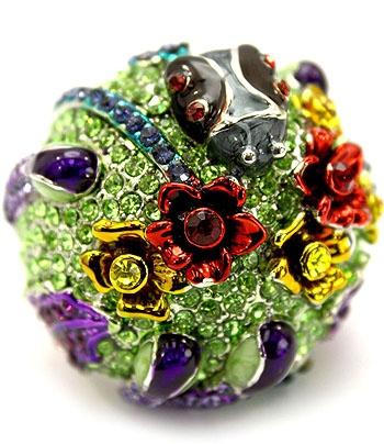 Ladybird's Garden Ring Purple