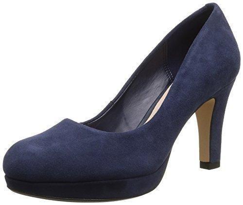 Angie Kendra Black Combi Suede, color negro, talla 39.5 EU (6 Damen UK) Clarks