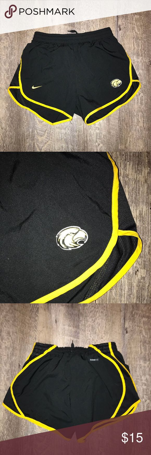 Nike Women Southern Miss Shorts Nike Women Southern Miss Shorts in excellent condition.  Size: XS Color: Black and Gold Nike Shorts