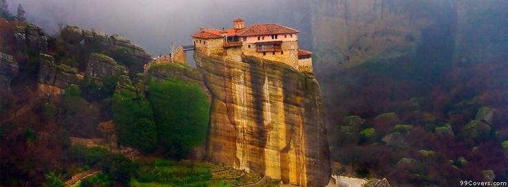 Rousanou Monastery In Greece