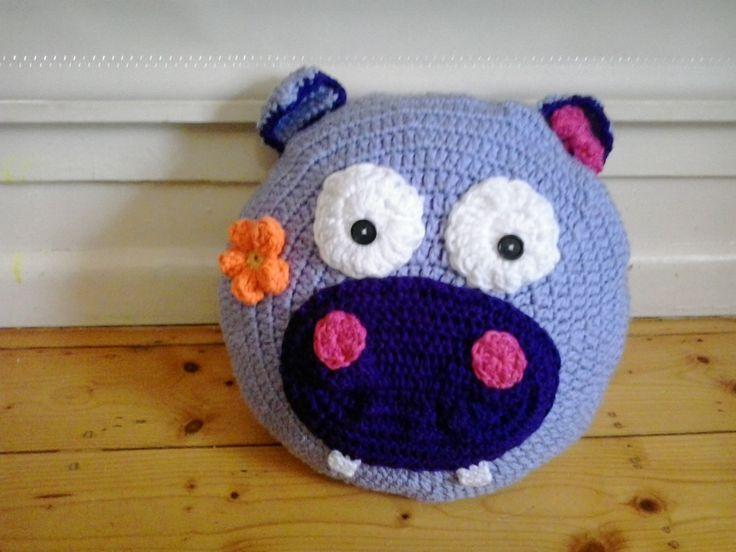 Happy Hippo Pillow Pet #hippo #pillowpet