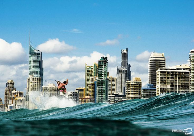 Mitch Coleborn. Surfers Paradise, Australia.