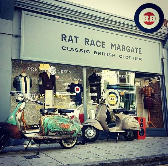 We are open 7 days a week, if you are not in Margate this weekend then check out our new online store www.ratracemargate.co.uk