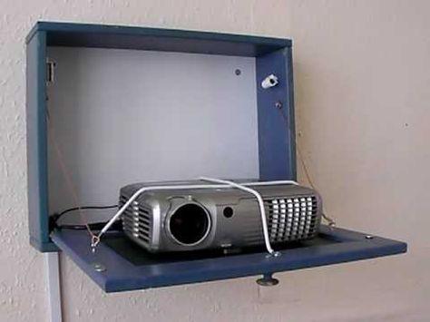 Hidden projector mount