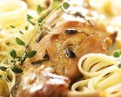 Pâtes au poulet et au citron (facile, rapide) - Une recette CuisineAZ