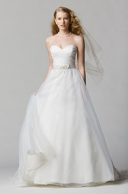 Sweetheart strapless wedding dress. Wtoo, Spring 2014