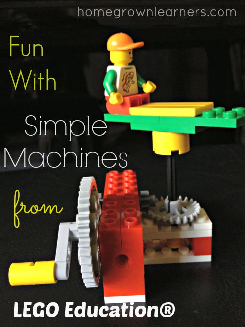 Lego STEM! Fun with simple Machines: Lego Education (via homegrown learners)