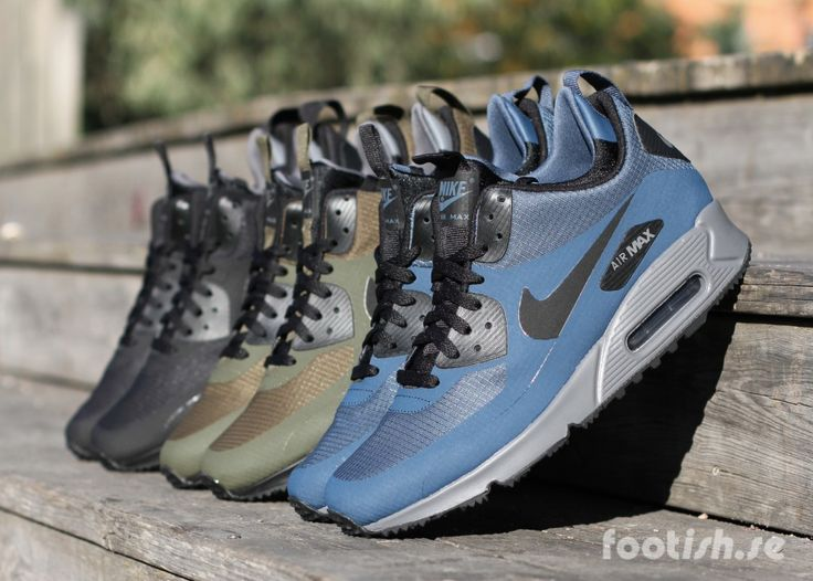 Nike Air Max 90 Mid Winter 806808-300 806808-400 | Footish · Sneakers NikeBlue  ...