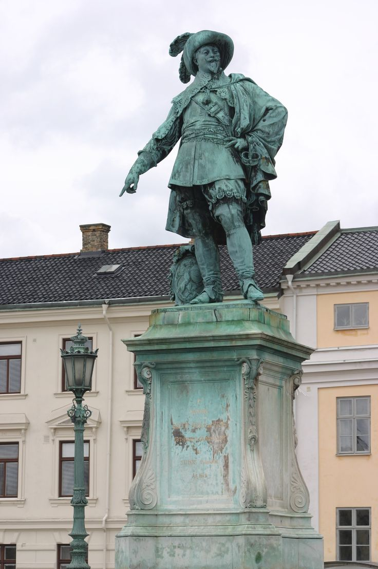 goteborg pomnik króla gustawa