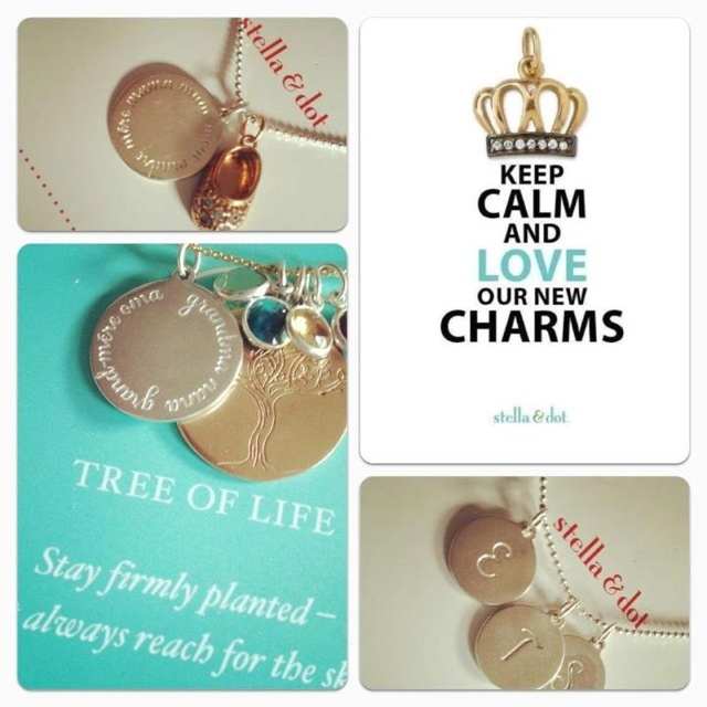 160 best jewelry charms images on pinterest charmed for Stella and dot jewelry wholesale