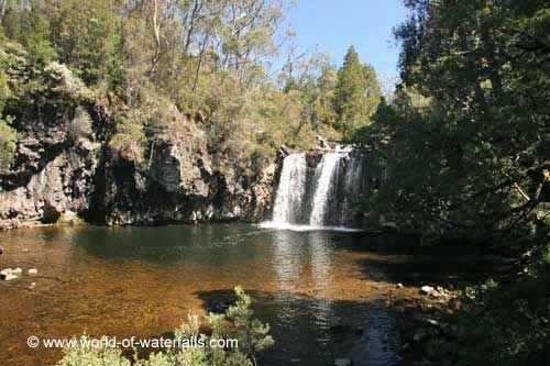 Pencil Pine Falls  Cradle Mountain National Park, Tasmania, Australia