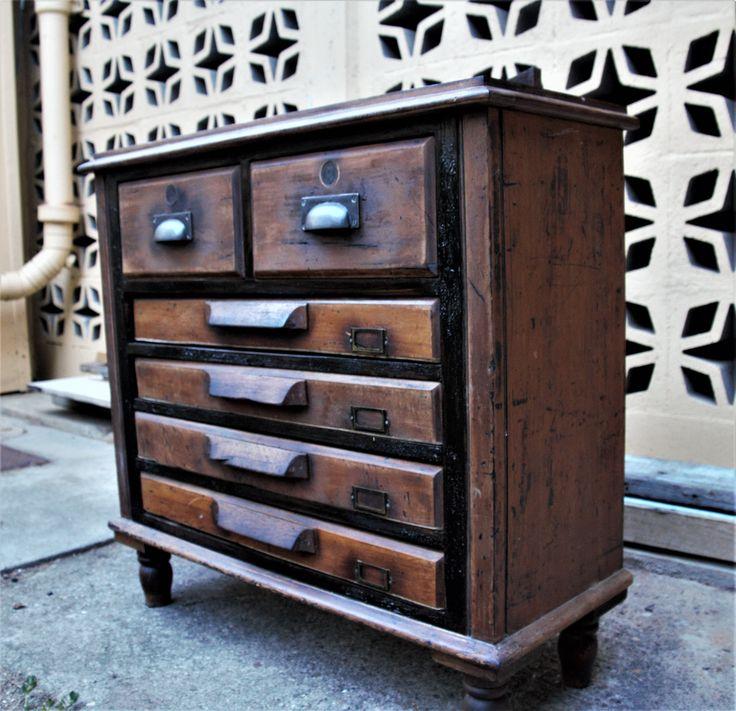 Antique drawer-file