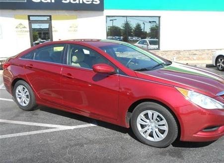 Used HYUNDAI Sonata 2012 HYUNDAI Sonata Greensboro, NC - Enterprise Used Cars $16,700