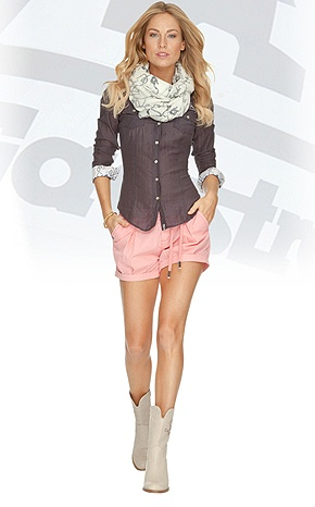 Gaastra blouse and short