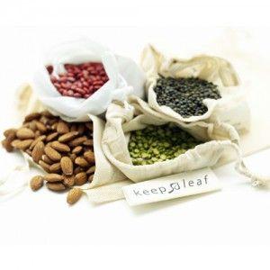 Biome: Keep Leaf cotton produce bags - set of 4
