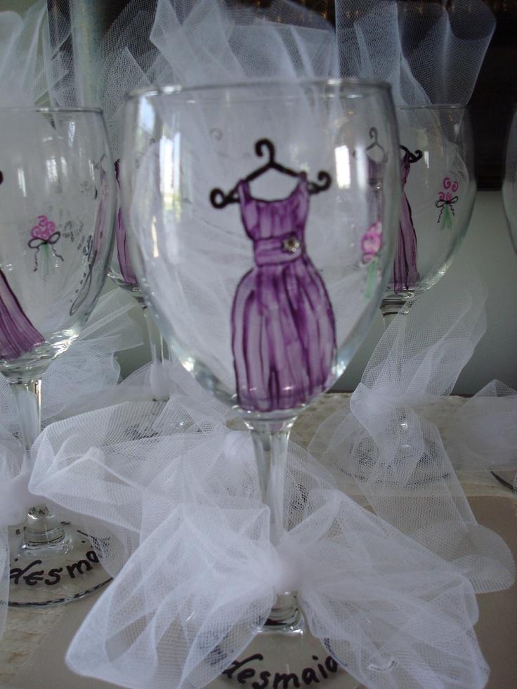 Bridesmaid Gift For Bridal Luncheon Art Pinterest