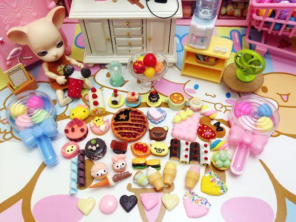 食玩散貨10件10件隨機發微縮物品娃娃屋配件玩具迷你場景拍攝道具-淘寶網 | Decor, Home decor