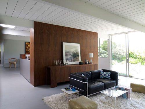 Marmoleum flooring is great for Eichler home floors