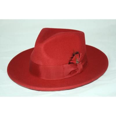 $39, Red Hat: Ferrecci Red Wool Fedora Hat. Sold by Overstock.