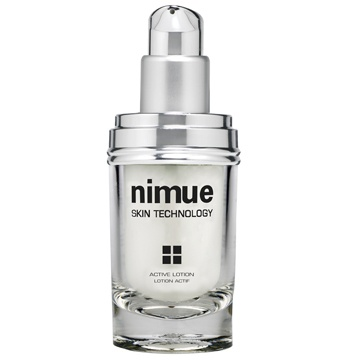:: Nimue Skin Technology ::  Active Lotion  A lightweight night lotion formulated with a high concentration of Alpha Hydroxy Acids. This active treatment optimises skin rejuvenation and skin health.   Increases cell turn over and renewal. Rapid improvement in skin texture. Facilitates skin rejuvenation and enhances results. Rapidly improves healing processes for environmentally damaged, hyperpigmented and problematic skin.