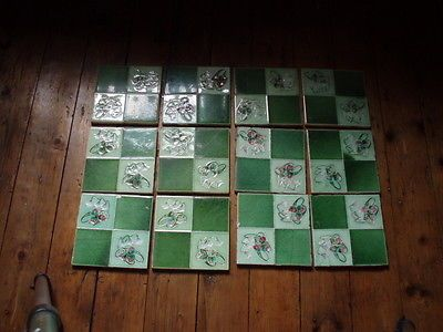 Victorian Fireplace Tiles 12 | eBay. Not exactly perhaps but... fireplace tiles... for something...