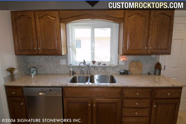 Kitchens With White Spring Granite Google Search