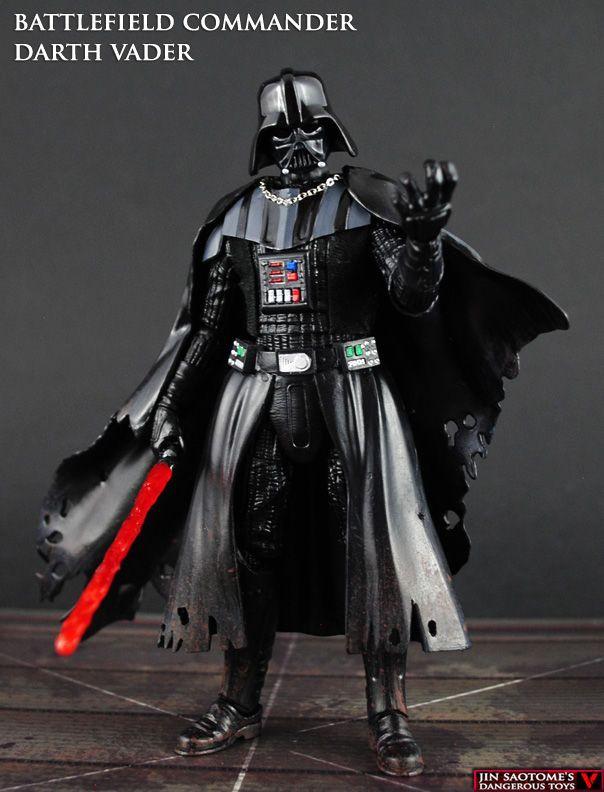 Battlefield Commander Darth Vader (Star Wars) Custom Action Figure