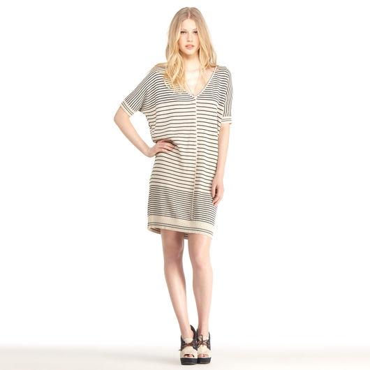 Rachel Roy Discount Gowns: Rachel Roy - Tangled Stripe Dress