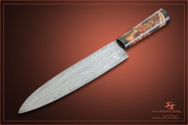 kitchen knife autor : Bernard Gorny