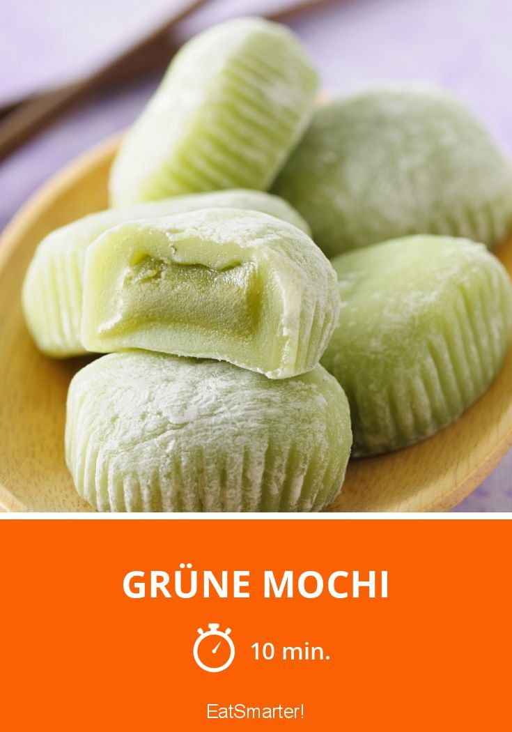 Grüne Mochi