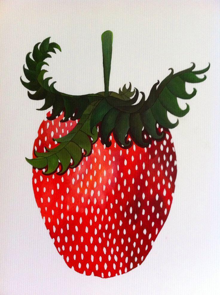 Strawberry by L. Arjona