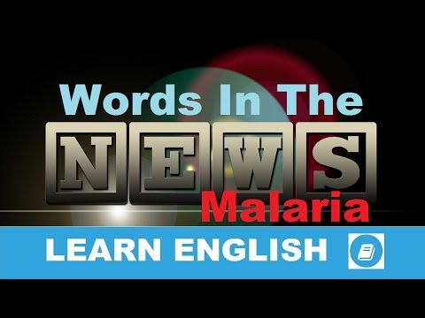 Learn English - Words in the News - Malaria - E-ANGOL