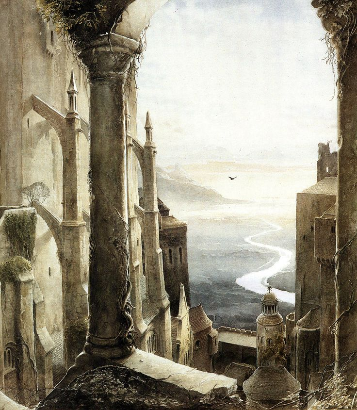 Gormenghast by Alan Lee