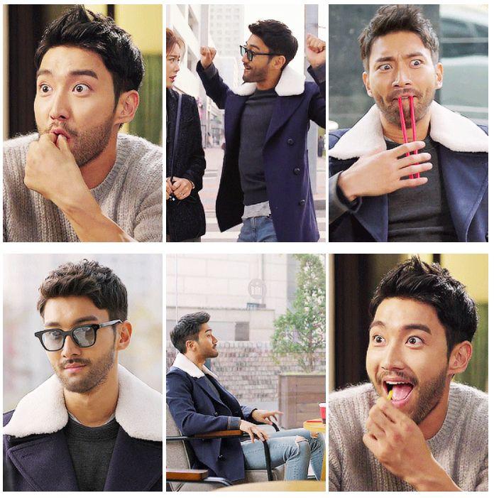 "Choi Siwon takes us to Derpcon 5 in Kdrama ""She was pretty."""