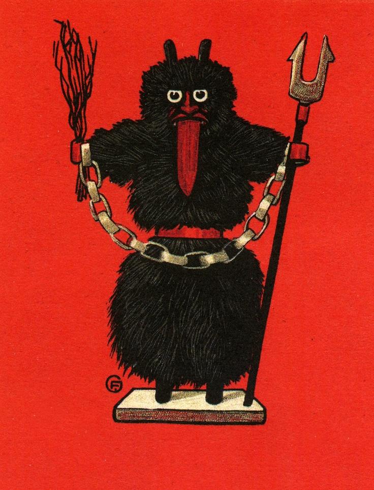 214 best KRAMPUS FUN images on Pinterest | Folklore, Dark side and ...