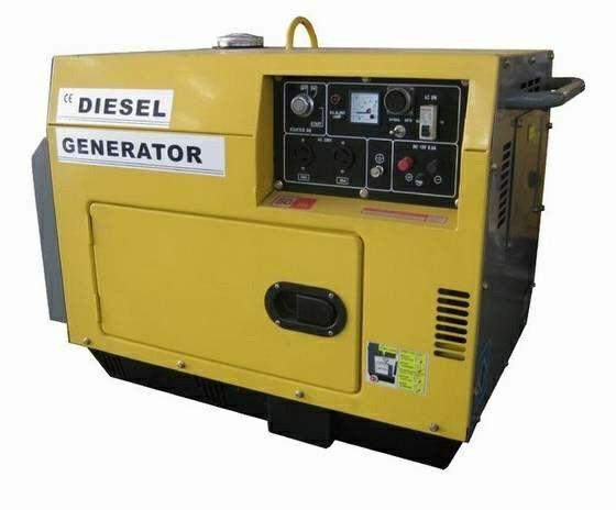 A portable Diesel Generator