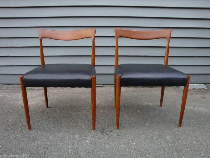 Dan Moderne Oslo Teak Dining Chair