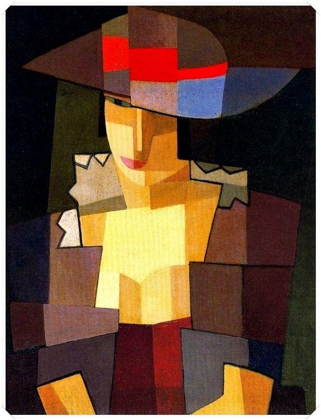 Emílio Pettoriti, 1920.