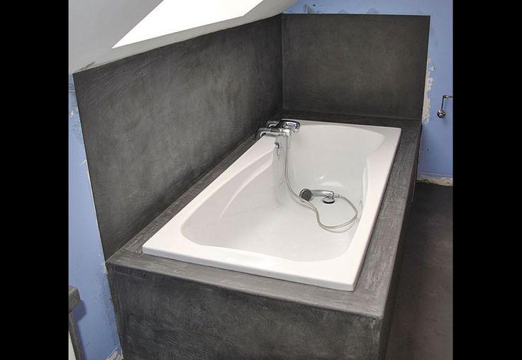 1000 id es sur le th me mortex sur pinterest tadelakt beton cir et lame t - Contour de baignoire ...