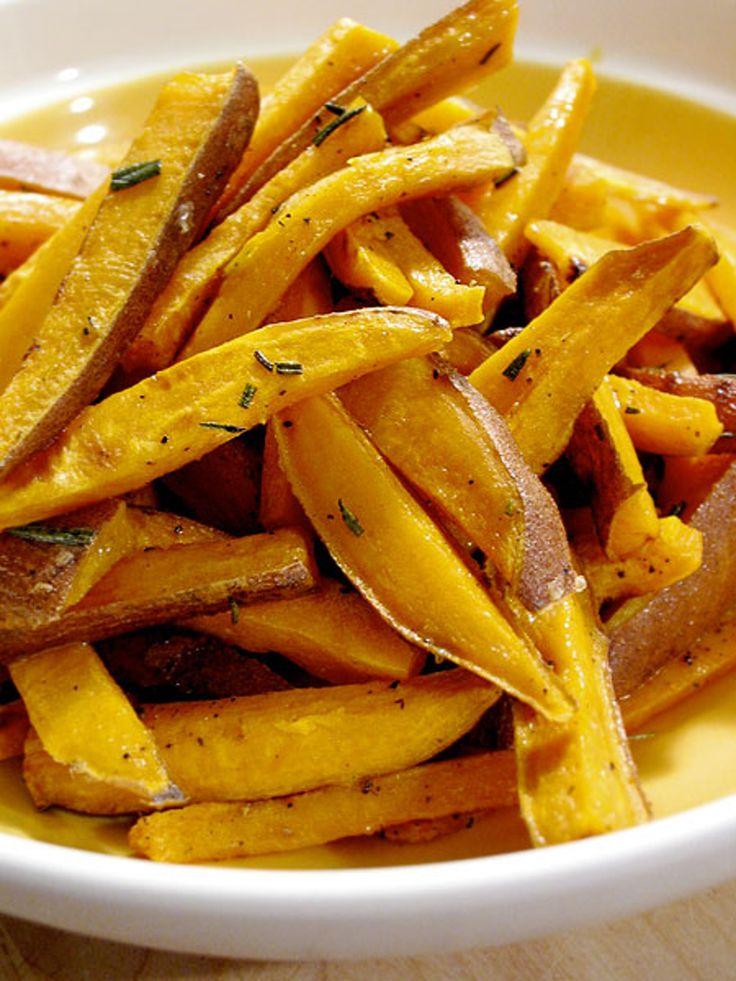 Recipe: Roasted Sweet Potato Sticks with Rosemary