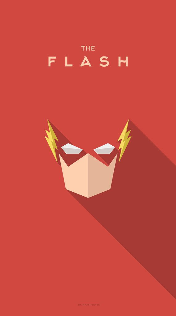 Flash Superhero iPhone Backgrounds