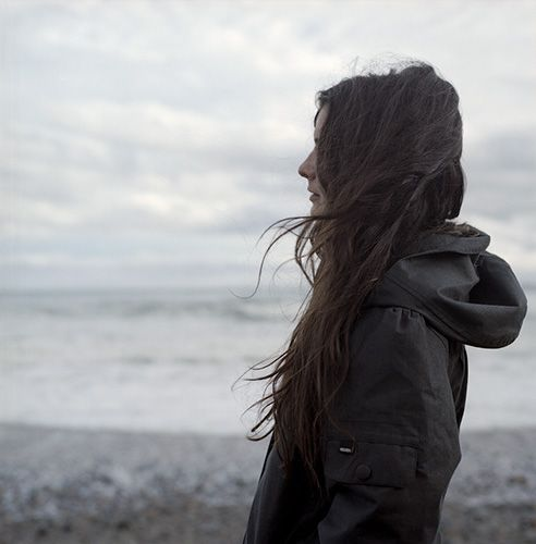 'we would always go down to the beach when he came back from being transferred.  now it was just me standing there, letting the wind whip my hair around.'