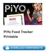 free piyo printable nutrition tracker worksheet