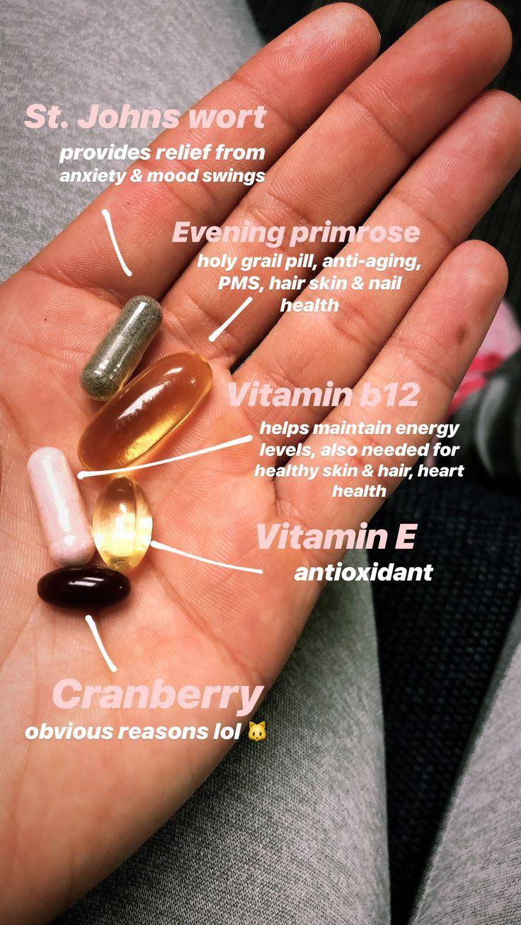 Meine täglichen Ergänzungen. – Vitamine